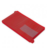 Smead Legal End Tab Out File Guide with Pockets, Red, 25/Box