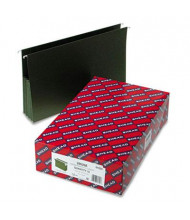 "Smead Legal 3-1/2"" Expanding Box Bottom Hanging File, Green, 10/Box"