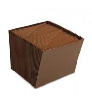 Smead 31-Pocket Letter Indexed Open Top Tuff Expanding File, Redrope