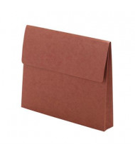 """Smead Letter 2"""" Expanding Wallet with Velcro Closure, Redrope"""