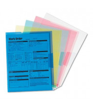 Smead Translucent Project Letter File Jackets, Assorted, 5-Pack