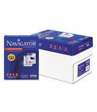 "Navigator 8-1/2"" X 11"", 24lb, 5000-Sheets, Premium Multipurpose Copy Paper"