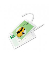 Swingline GBC SelfSeal 8 Mil Luggage Tag-size Laminating Pouches 5/Pack