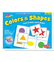 Trend Match Me Colors and Shapes Puzzle Game