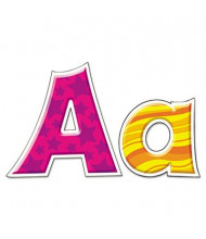 """Trend Ready Letters 4"""" H Furry Friends Patchwork Friendly, Multi-Patterned Designs"""