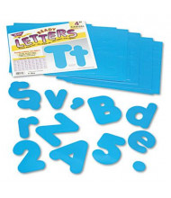 """Trend Ready Letters 4"""" H Blue Casual Combo Set, 182/Set"""