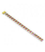 "Trend Terrific 39"" x 2-1/4"" Color Collage Designs Board Trimmer Panels, 48/Set"