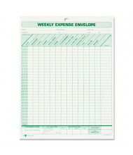 """TOPS 8-1/2"""" x 11"""" Weekly Expense Report Envelope, 20-Forms"""