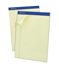 """Ampad 8-1/2"""" x 11-3/4"""" 50-Sheet 12-Pack Legal Rule Pastel Pads, Green Paper"""