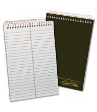 "Ampad 6"" x 9"", 100-Sheet, Gregg Rule Gold Fibre Steno Notepad, White Paper"