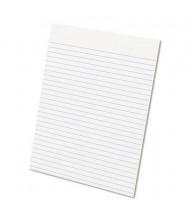 "Ampad 8-1/2"" X 11"" 50-Sheet 12-Pack Legal Rule Glue Top Pads, White Paper"
