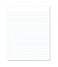 """Ampad 8-1/2"""" x 11"""" 50-Sheet 12-Pack Legal Rule Recycled Glue Top Pads, White Paper"""