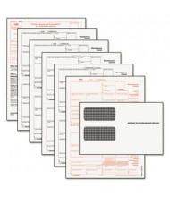 "TOPS 8-1/2"" x 11"" Carbonless 1099 Misc. Tax Form Kit, 24-Forms & Envelopes"