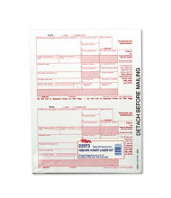 """TOPS 8"""" x 5-1/2"""" 1099 IRS Approved Tax Form, 75-Forms"""