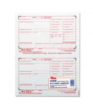 """TOPS 8-1/2"""" x 5"""" 4-Part Carbonless W-2 Tax Form, 50-Forms"""