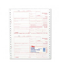 """TOPS 8"""" x 5-1/2"""" 1099 IRS Approved Tax Form, 24-Forms"""