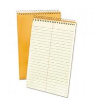 "Ampad 6"" x 9"" 80-Sheet, Gregg Rule Steno Notepad, Green Tint Paper"