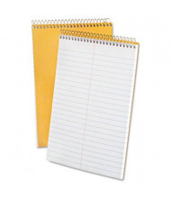 """Ampad 6"""" x 9"""" 70-Sheet, Gregg Rule Steno Notepad, White Paper"""