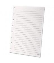 "Ampad Versa 5-1/2"" x 8-1/2"" 40-Sheet Notebook Wide Ruled Refill Paper, White Paper"