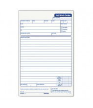 """TOPS 5-1/2"""" x 8-1/2"""" 3-Part Snap-Off Job Work Order Form, 50-Forms"""