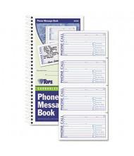 """TOPS 5"""" x 2-3/4"""" 2-Part Spiralbound Message Book, 600-Forms"""