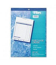 """TOPS 8-3/8"""" x 10-3/16"""" 50-Page 2-Part Purchase Order Book"""