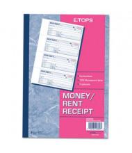 "TOPS 7-1/8"" x 2-3/4"" 100-Page 3-Part Money & Rent Receipt Book"