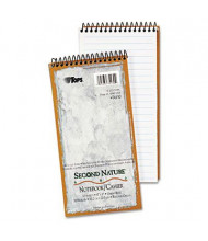 """TOPS Second Nature 4"""" X 8"""" 70-Sheet Gregg Rule Recycled Notepad"""