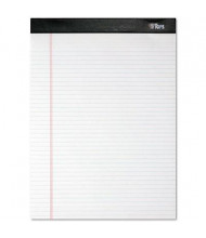 """TOPS 8-1/2"""" X 11-3/4"""" 100-Sheet 4-Pack Narrow Rule Notepads, White Paper"""