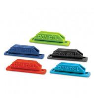 Tops PenPal Rubber Pen/Pencil Clip Holder, Assorted Colors