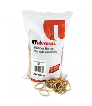 "Universal 2"" x 1/8"" Size #30 Rubber Bands, 1 lb. Pack"