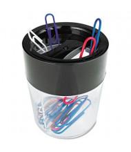 Universal 2-Compartment Round Magnetic Clip Dispenser