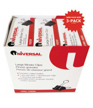 """Universal 1"""" Capacity Steel Wire Large Binder Clips, 36-Binder Clips"""