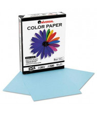 """Universal One 8-1/2"""" x 11"""", 20lb, 500-Sheets, Blue Colored Office Paper"""