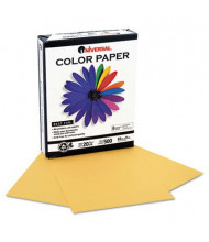 """Universal One 8-1/2"""" x 11"""", 20lb, 500-Sheets, Goldenrod Colored Office Paper"""