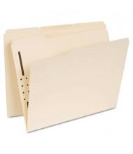 Universal Reinforced 1/3 Tab 1-Fastener Letter File Folder, Manila, 50/Box