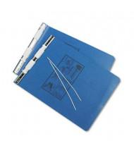 "Universal 9-1/2"" x 11"" Unburst Sheet Pressboard Hanging Data Binder, Blue"