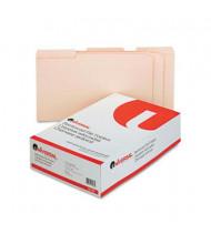 Universal 1/3 Cut Double-Ply Top Tab Legal File Folder, Manila, 100/Box