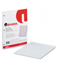 """Universal 8-1/2"""" x 11"""", 100-Sheets, College Rule Filler Paper"""