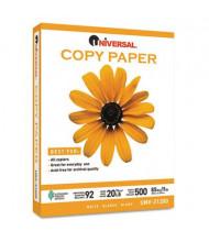 """Universal 8-1/2"""" x 11"""", 20lb, 5000-Sheets, Copy Paper"""