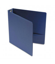 "Universal 1-1/2"" Capacity 8-1/2"" x 11"" Round Ring Economy Non-View Binder, Royal Blue"