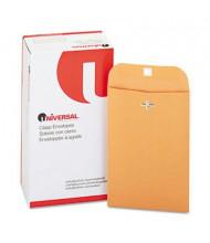 "Universal 6"" x 9"" Side Seam #55 Kraft Clasp Envelope, Light Brown, 100/Box"