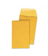 "Universal 2-1/4"" x 3-1/2"" #1 Kraft Coin Envelope, Light Brown, 500/Box"