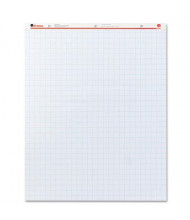 """Universal Recycled 27"""" x 34"""", 50-Sheet, 2-Pack, Quadrille Ruled Easel Pads"""