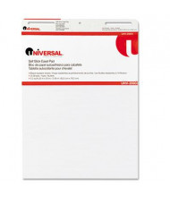 """Universal One Self-Stick 25"""" x 30"""", 30-Sheet, 2-Pack, Unruled Easel Pads"""