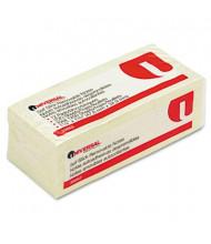 "Universal 1-1/2"" X 2"", 12 100-Sheet Pads, Yellow Sticky Notes"