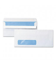 """Universal One 4-1/8"""" x 9-1/2"""" Self-Seal #10 Security Tint Window Business Envelope, White, 500/Box"""