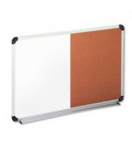 Universal 3 ft. x 2 ft. Cork Bulletin and Melamine Combination Whiteboard