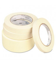 """Universal 1"""" x 60 yds General-Purpose Masking Tape, 3"""" Core, 12/Carton"""