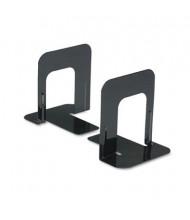 "Universal 5"" H Economy Standard Heavy Gauge Steel Bookends, Black"